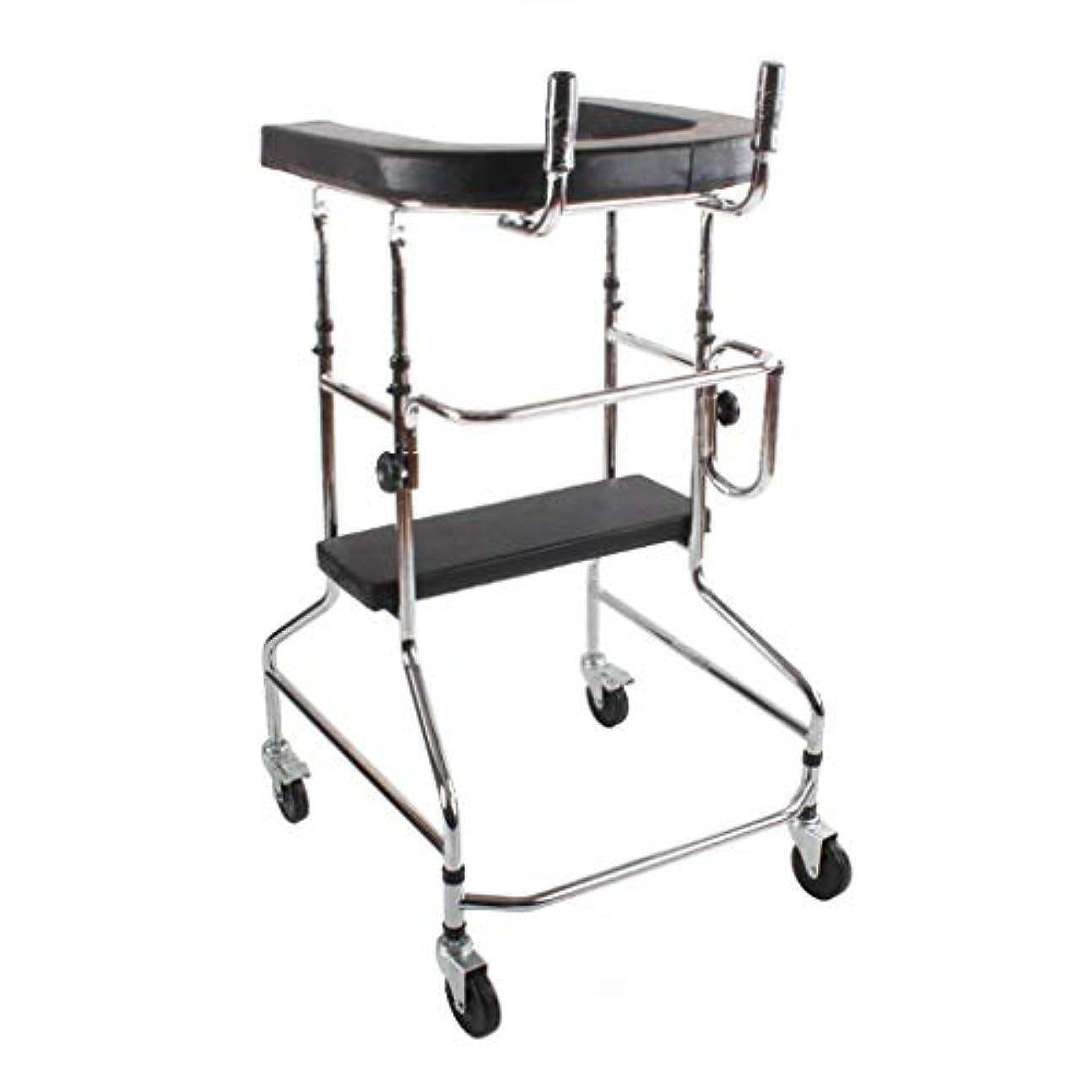 雇用巡礼者買い手BNSDMM 步行器 ウォーカー - 高齢者用ウォーカーウォーカー下肢リハビリテーション機器健康スタンディングウォーカーホイールとシートリハビリ機器