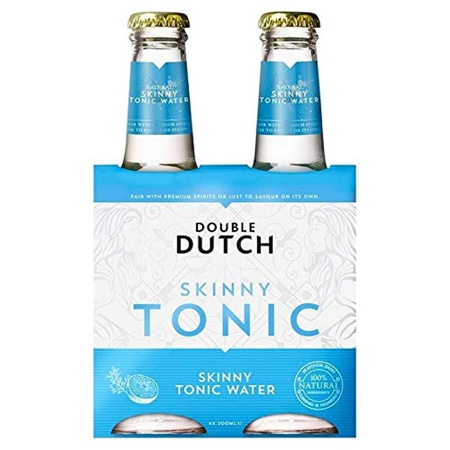 捧げるゴールドお嬢[Double Dutch ] ダブルダッチスキニートニック4×200ミリリットル - Double Dutch Skinny Tonic 4 x 200ml [並行輸入品]