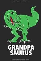 Papa Dinosaurier Notizbuch: Papa Dinosaurier Vatertag Notizbuch / Notizheft / Notizblock A5 (6x9in) Dotted Notebook / Punkteraster / 120 gepunktete Seiten