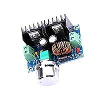 Ren He XL4016E1 DC電圧レギュレータ XH-M401 DC 4-40V〜DC 1.25-36V 8A ステップダウンモジュール バックコンバータ電圧レギュレータ 高電力効率降圧コンバータ電源