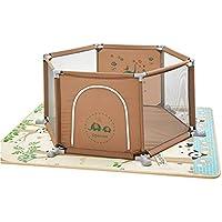 ベビーサークル 赤ちゃんの遊び場の幼児遊び庭の漫画の両面のクロールマットと屋内幼児のフェンスの家庭の遊び場 (サイズ さいず : 2cm thick mat)