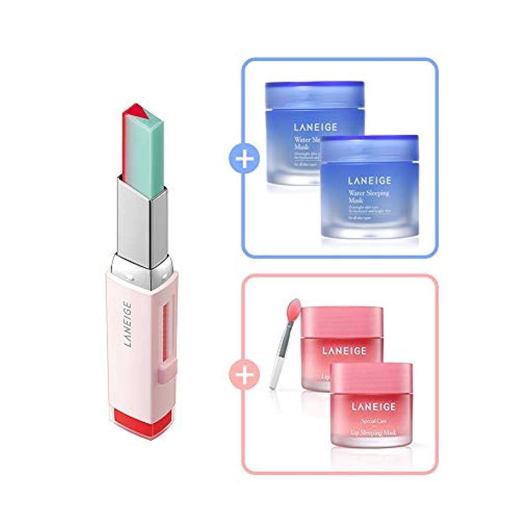 草ヒューマニスティックスタックTwo Tone Tint Lip Bar 2g (No.3 Tint Mint)/ツートーン ティント バー 2g (No.3 ティント ミント) [数量限定!人気商品のサンプルプレゼント!]