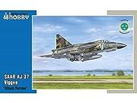 スペシャルホビー SH48148 1/48 サーブ AJ-37 ヴィゲン 「対地攻撃型」