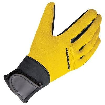 コミネ(Komine) GK-721 Neoprene Gloves yellow S 04-721