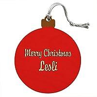 クリスマス Lesli ウッドクリスマスオーナメント