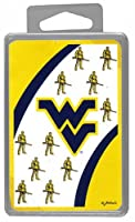 Game Day Outfitters NCAA West Virginia Mountaineers Crystal Box Playing Cards [並行輸入品]