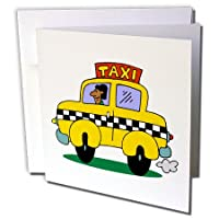 TNMGraphics Occupations – CAB – グリーティングカード Set of 12 Greeting Cards