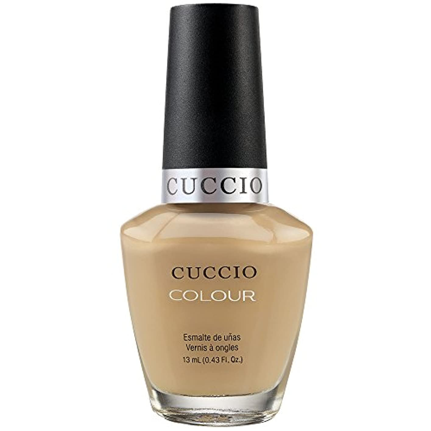 脱獄リングレット企業Cuccio Colour Gloss Lacquer - Java Va Voom - 0.43oz / 13ml
