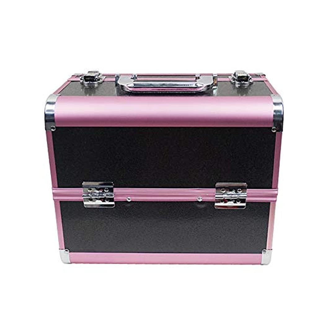 ジャーナリスト寄託スケジュール化粧オーガナイザーバッグ 大容量ポータブル化粧ケース(トラベルアクセサリー用)シャンプーボディウォッシュパーソナルアイテム収納トレイ 化粧品ケース