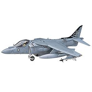 ハセガワ 1/48 アメリカ海兵隊 AV-8B ハリアー II プラス プラモデル PT28