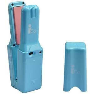 電池式 コンパクトヘアアイロン ico (アイコ) キャンディブルー
