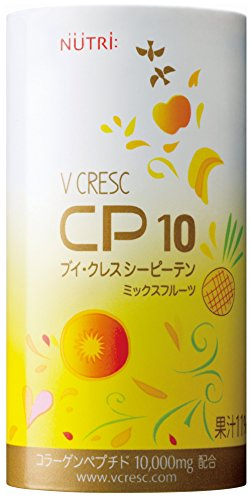 ニュートリー 栄養補助飲料 飲むサプリメント ブイ・クレスCP10 ミックスフルーツ味 125ml 30本入/箱
