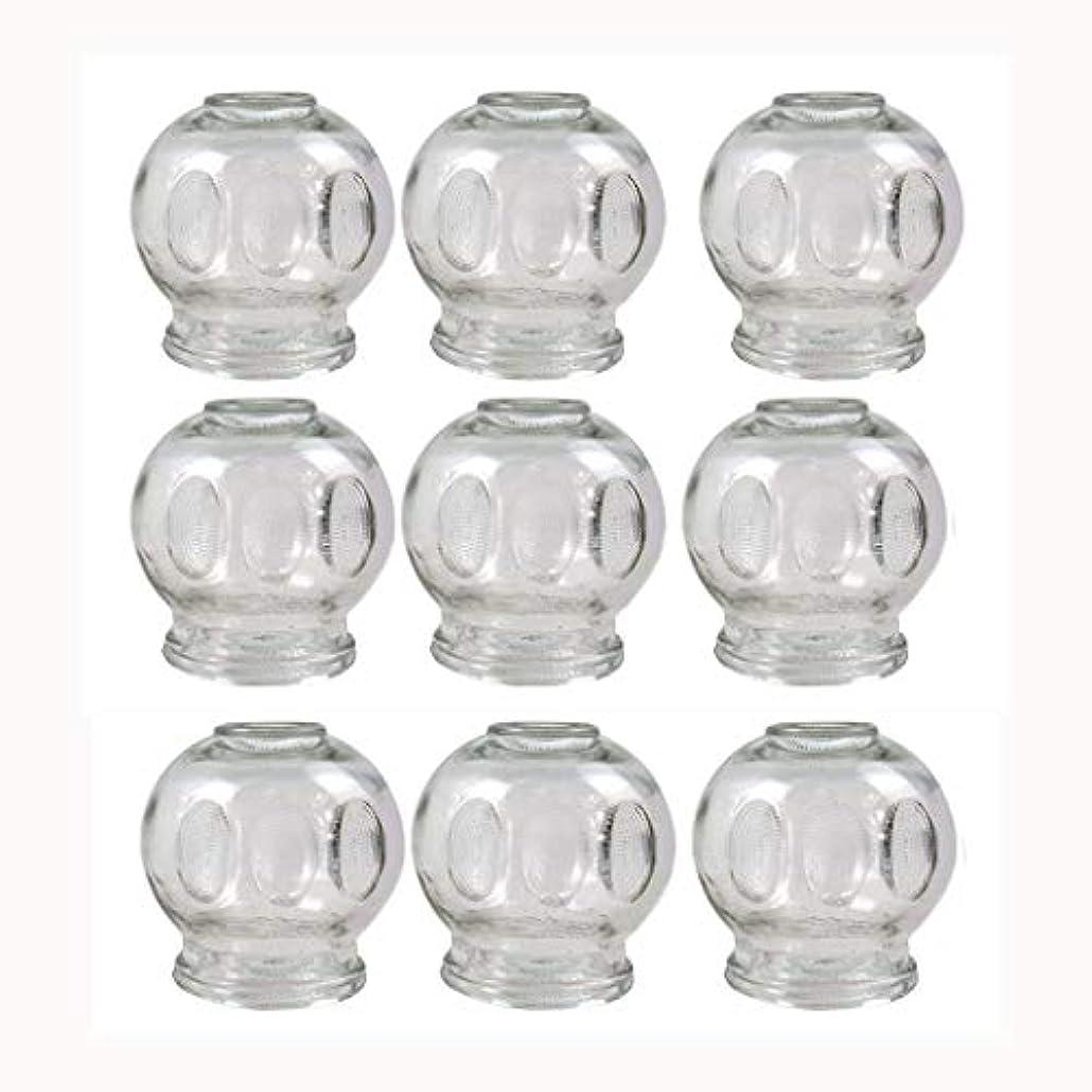 に対処する醜いシャンパンガラスのカッピング(消火栓)真空マッサージNewØ55 MM 9pcs