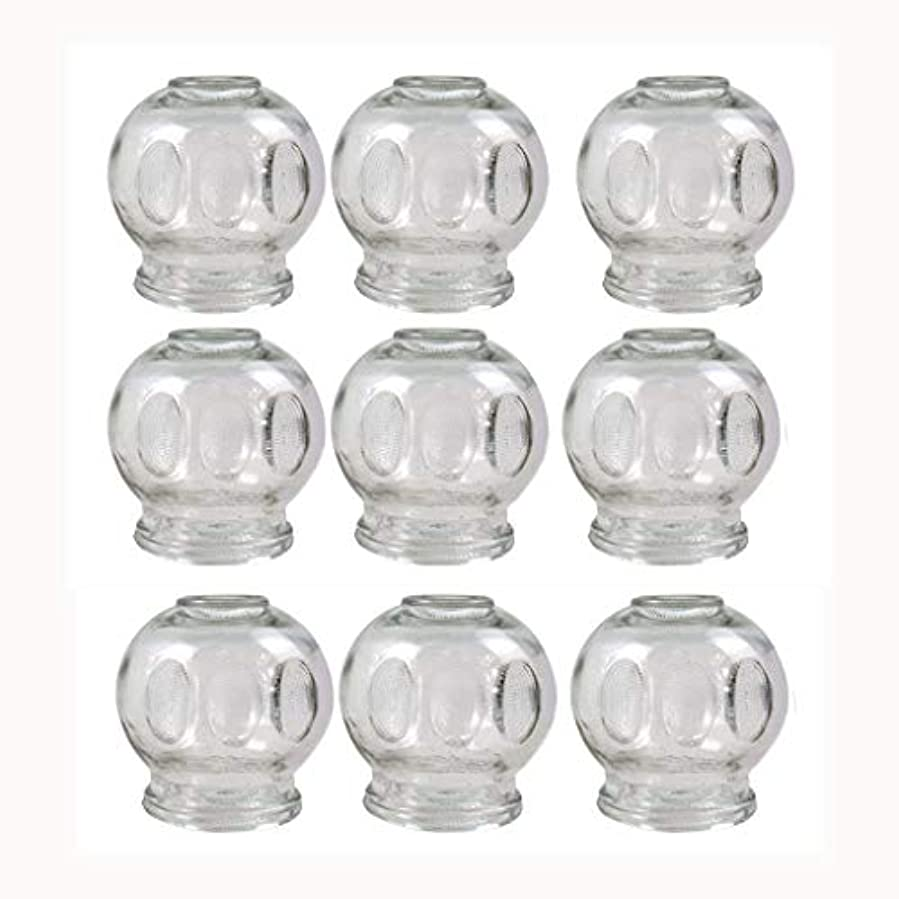 消化器一般的に言えばすなわちガラスのカッピング(消火栓)真空マッサージNewØ55 MM 9pcs