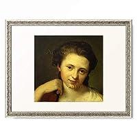 アントン・フォン・マロン Anton von Maron 「Portrait of Angelica Kauffmann.」 額装アート作品