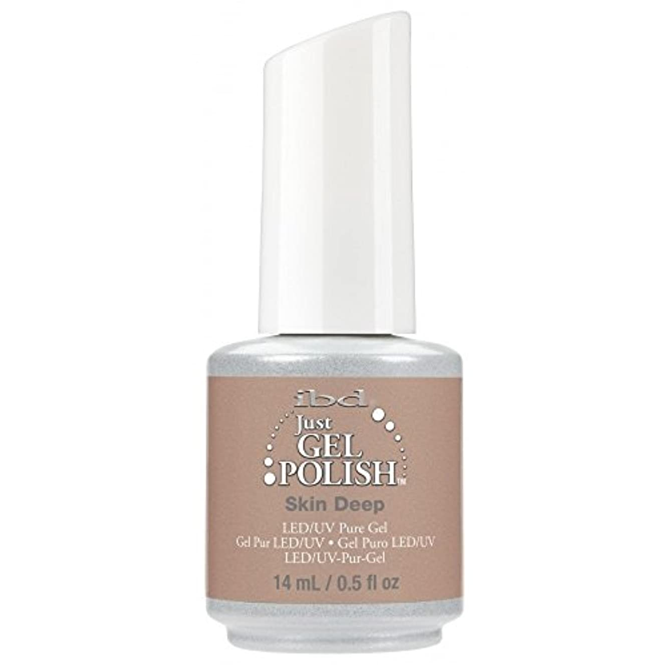 酸いつオークランドibd Just Gel Nail Polish - 2017 Nude Collection - Skin Deep - 14ml / 0.5oz