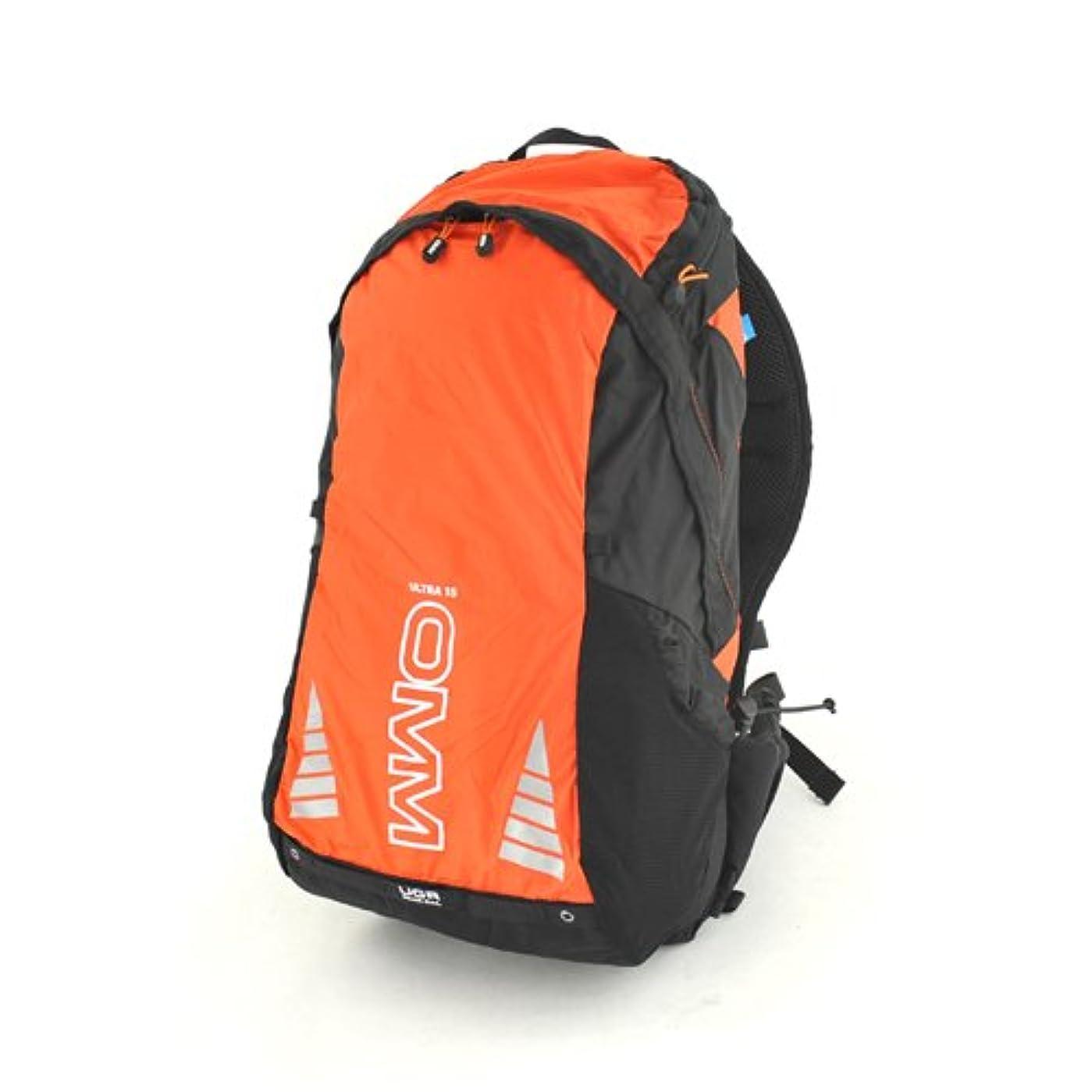 オレンジ反発する印象的OMM(ザオリジナルマウンテンマラソン) Ultra 15 Orange/Black