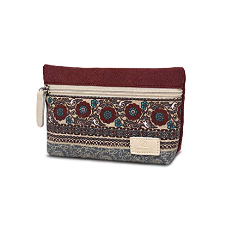 MARUIKAO 財布 小銭入れ コインケース ジッパー キャンバス ミニ財布 シンプル レディース 子供 かわいい