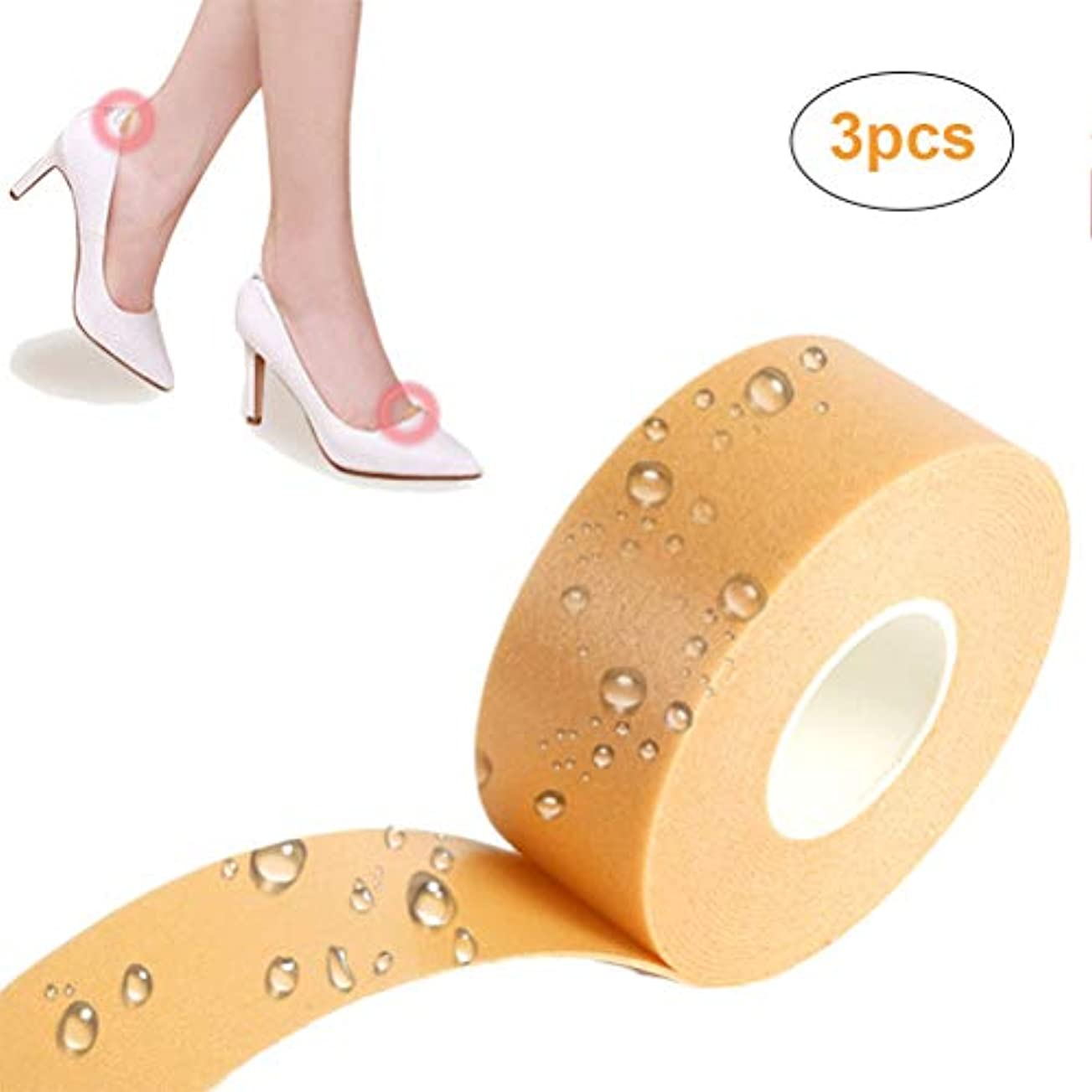 ライフ小屋 靴ずれ予防テープ 靴ずれ保護テープ 防水素材 粘着 切断可能 靴擦れ防止パッド かかとパッド かかと パッド 保護テープ 足用保護パッド 足裏痛み緩和 靴ズレ防止 快適歩行 男女兼用