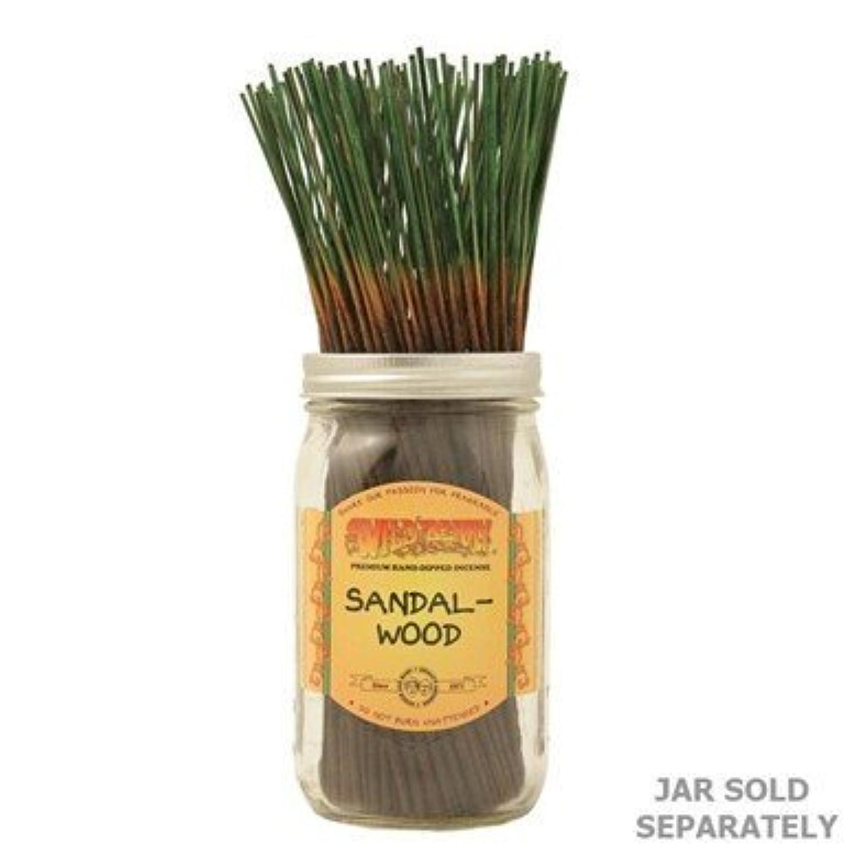 優雅な抗議庭園Sandalwood - 100 Wildberry Incense Sticks [並行輸入品]