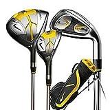NIKE ゴルフ Nike Golf SQ Machspeed Junior - Kids Box Set Size 2 (Right Hand, Graphite, Girl)