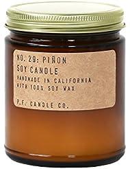 p.f. Candle Co。 – No。29 : Piñon Soy Candle 7.2 oz