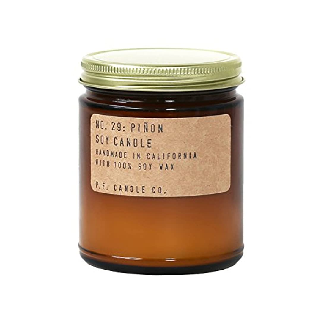 支店クマノミ飼料p.f. Candle Co。 – No。29 : Piñon Soy Candle 7.2 oz