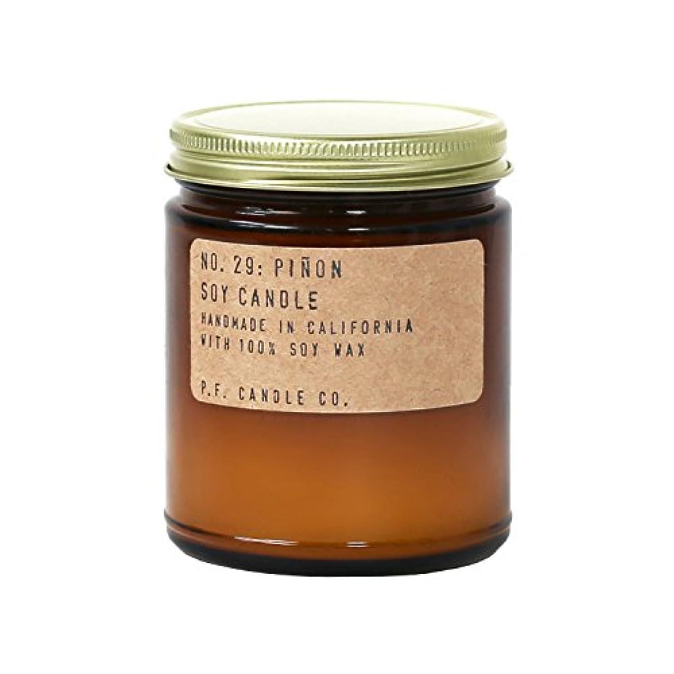 変位印象子羊p.f. Candle Co。 – No。29 : Piñon Soy Candle 7.2 oz