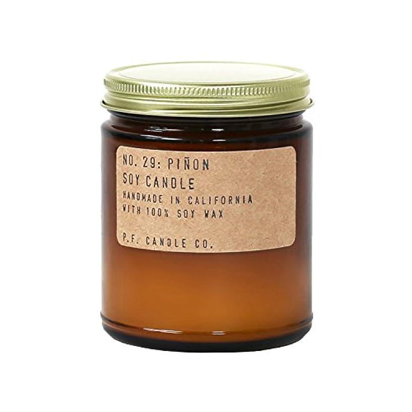 召集する劇的豊かにするp.f. Candle Co。 – No。29 : Piñon Soy Candle 7.2 oz