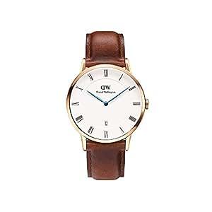 [ダニエルウェリントン]DANIEL WELLINGTON 腕時計 メンズ/レディース ダッパー DAPPER セイントモーズ/ローズ 38mm 1100DW(DW00100083) [正規輸入品]