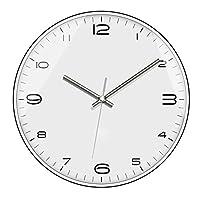 ミュートクォーツ時計のホームファニシング時計シンプルなヨーロッパやアメリカのメタルリビングルームのベッドルームの壁時計ファッションウォールクロック B11/17
