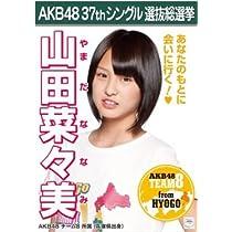 【山田菜々美】ラブラドール・レトリバー AKB48 37thシングル選抜総選挙 劇場盤限定ポスター風生写真 AKB48チーム8
