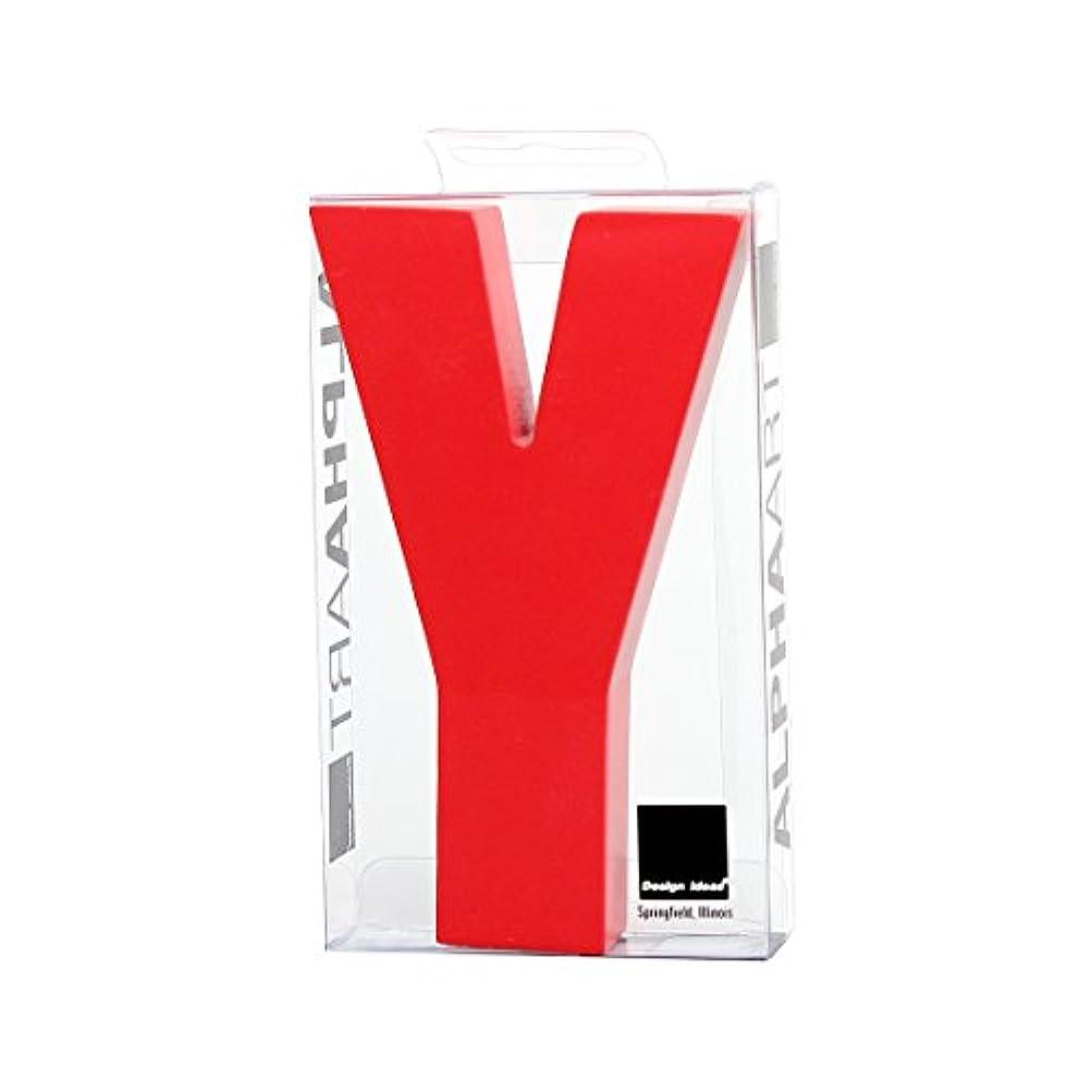 是正に関して包帯カメヤマキャンドルハウス アルファベットブロック カラフル  アルファアートスモールy 「 レッド 」