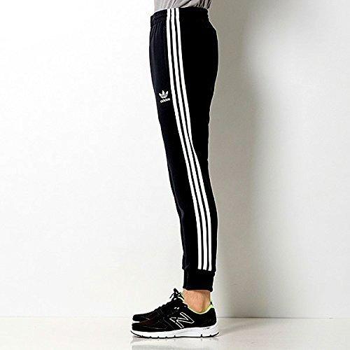 adidas originals(アディダスオリジナルス) スリムトラックパンツ SST CUFFED TRACK PANTS ブラック (S)