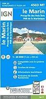 Le Marin presqu'île des trois îlets 1:25 000: Parc National de Martinique
