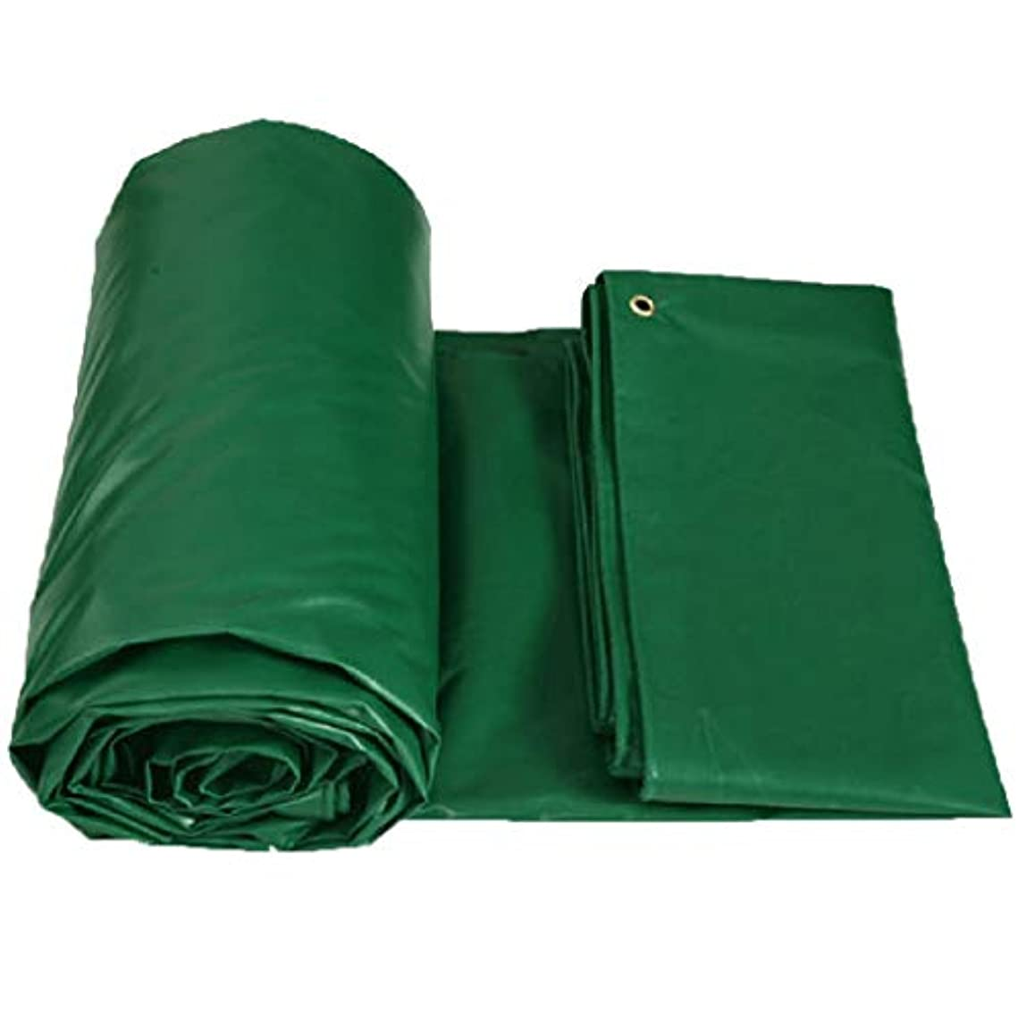 ラベンダー存在数学者ターポリン 緑 0.4mm 厚い PVC 防水 耐候性 UV耐性 柔らかい 防腐剤 絶縁 アウトドア タープ グランドシートカバー 450g / M2