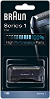 Braun Series 1 11B Electric Shaver Replacement Foil and Cutter, Black