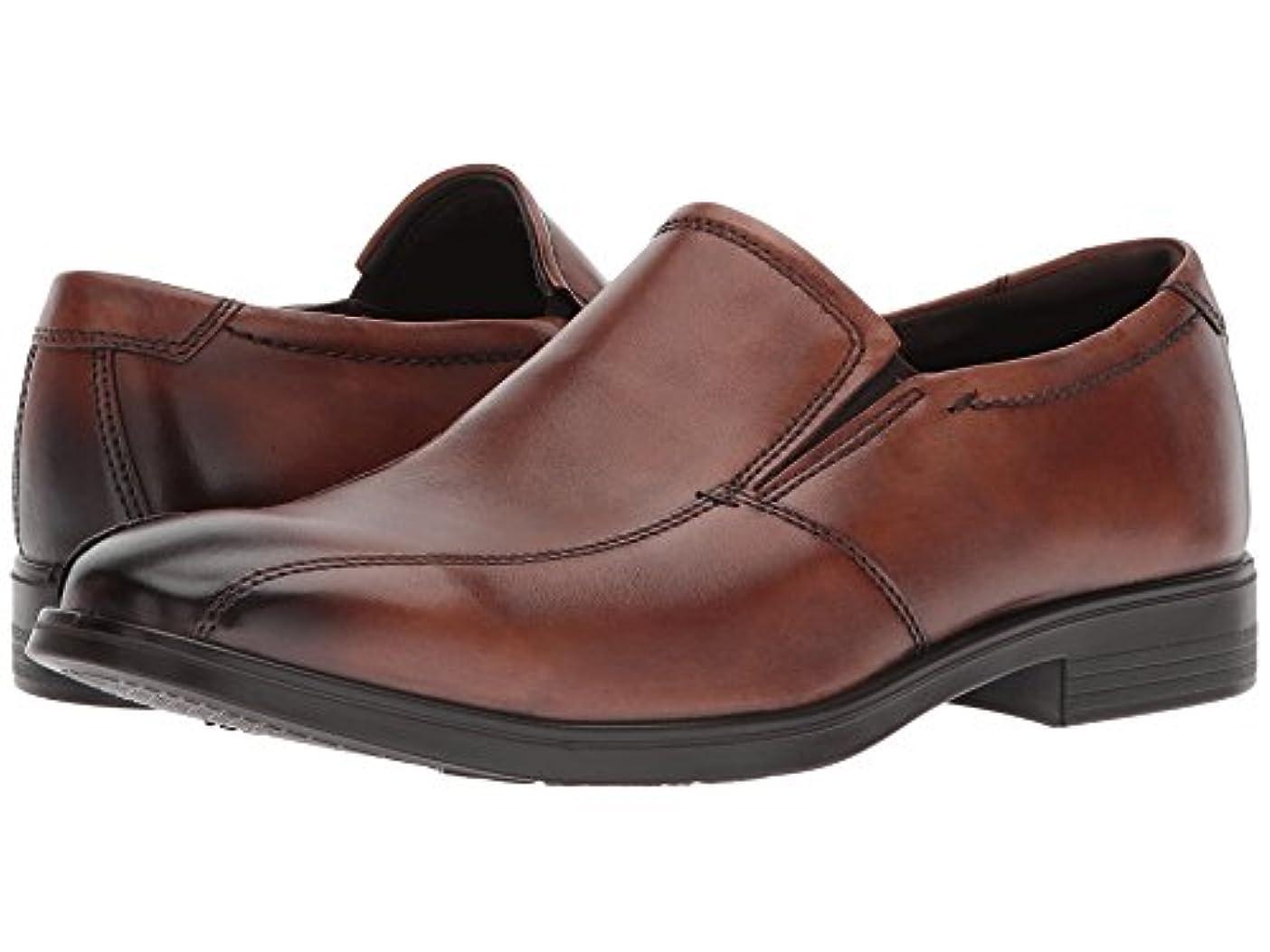 爆発物腐敗空[ecco(エコー)] メンズローファー?スリッポン?靴 Melbourne Bike Slip-On Amber EU42 (US Men's 8-8.5) (26.5cm) M