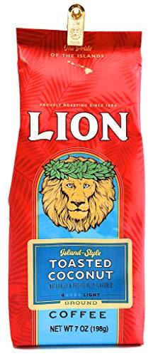 ライオンコーヒー トーステッドココナッツ 198g