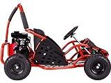 MotoTec mt-gk-05レッドOff Road Go Kart–79CC