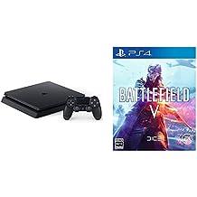 PlayStation 4 ジェット・ブラック 500GB (CUH-2200AB01) + Battlefield V (バトルフィールドV) - PS4 セット