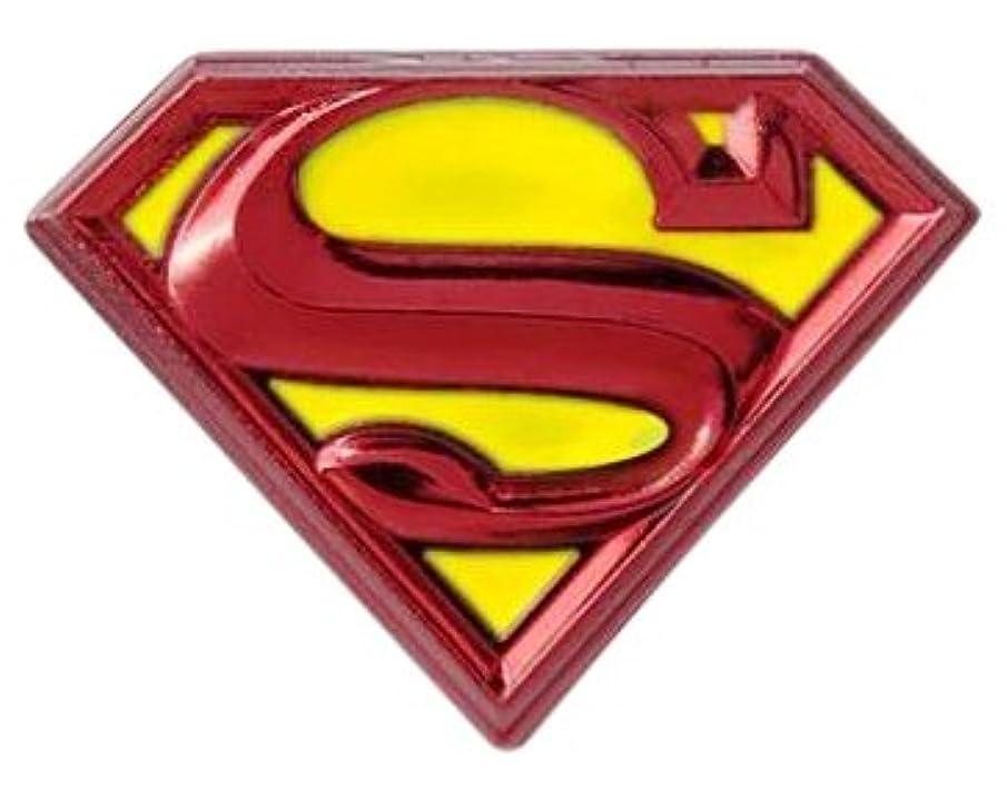 区誇張するバンドルLapel Pin - DC Comics - Superman Logo Pewter Colored New Licensed 48386