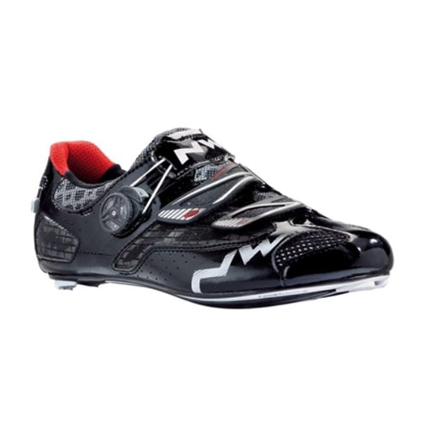 チラチラする岸緩むノースウェーブ2015メンズGalaxyロードサイクリング靴 – 80141002 – 10