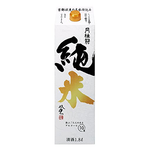 月桂冠 純米パック [ 日本酒 京都府 1800ml ]