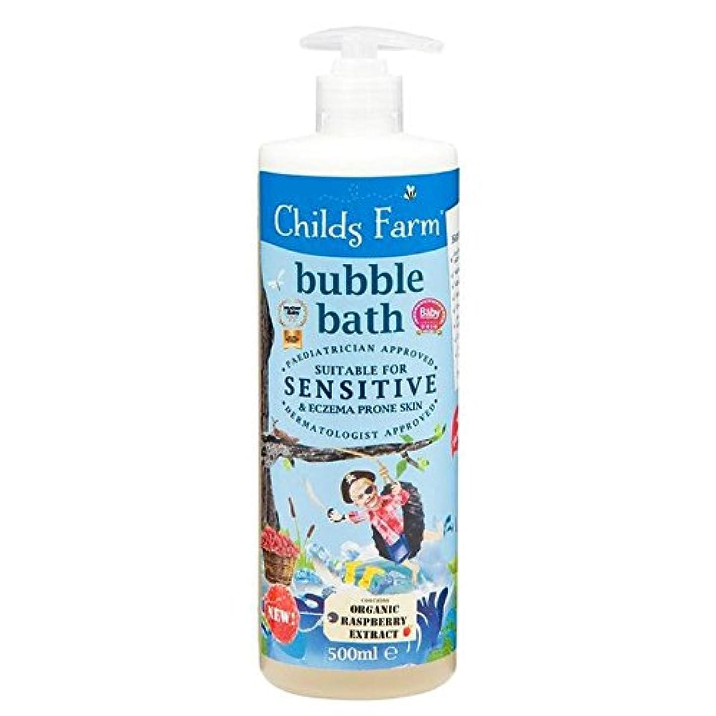 内向きマガジン広い500ミリリットルのための農場の泡風呂をチャイルズ x4 - Childs Farm Bubble Bath for Bucaneers 500ml (Pack of 4) [並行輸入品]