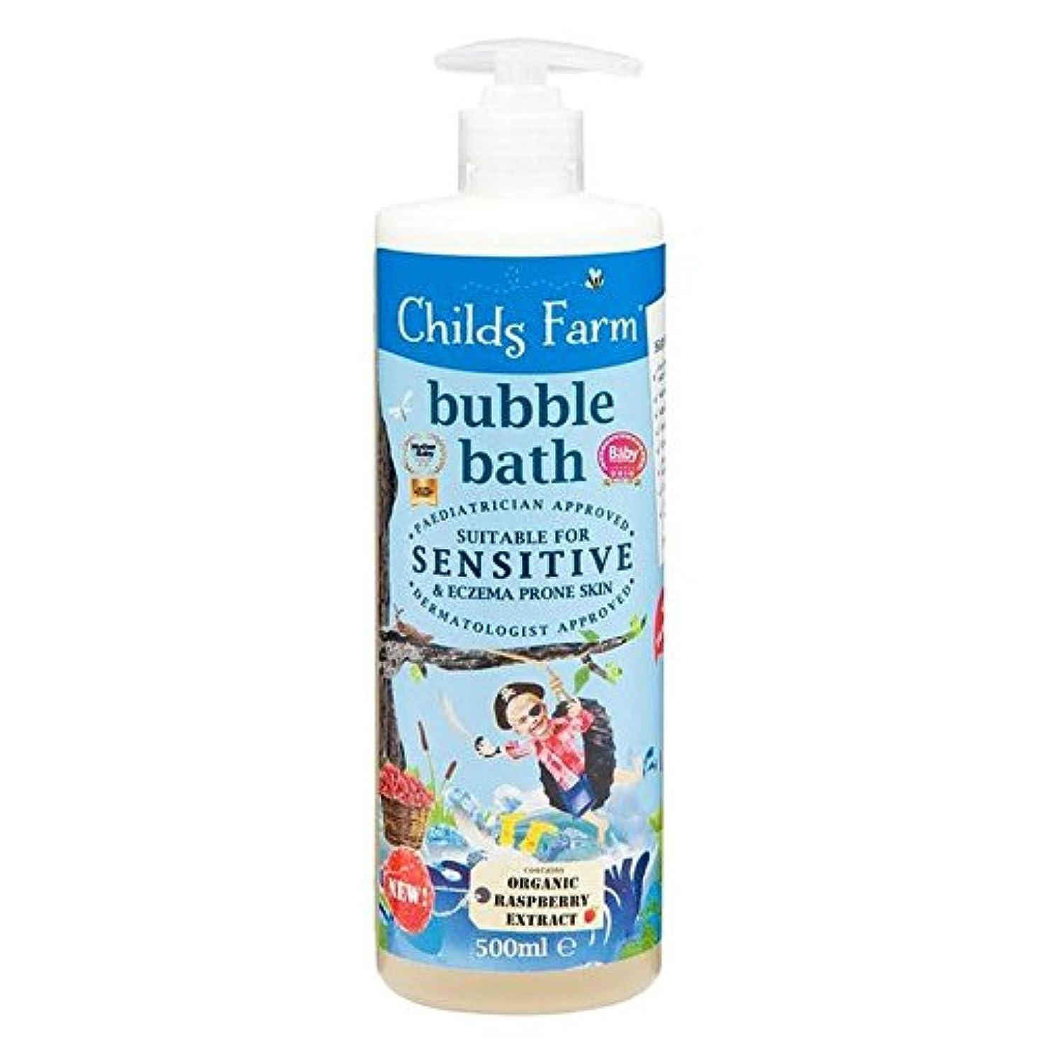 引数遮るここに500ミリリットルのための農場の泡風呂をチャイルズ x4 - Childs Farm Bubble Bath for Bucaneers 500ml (Pack of 4) [並行輸入品]
