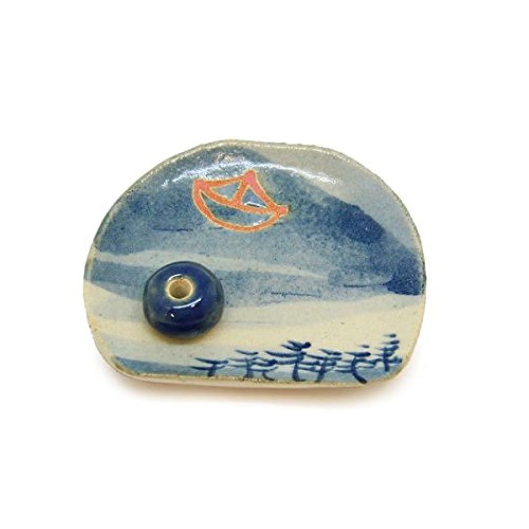 絞る年外出香皿 京の風物詩 夏 「舟」