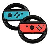 IVSO Nintendo Switch Joy-Con ハンドル Nintendo Switchハンドル Nintendo Switch専用ハンドル ニンテンドー スイッチ ジョイコン ハンドル カバー マリオカート8 専用 Nintendo Switc