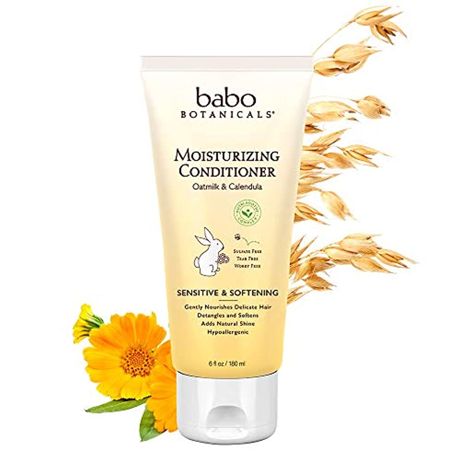 プロフェッショナル若いネイティブBabo Botanicals Moisturizing Conditioner (For Sensitive & Dry Hair & Scalp) 180ml/6oz