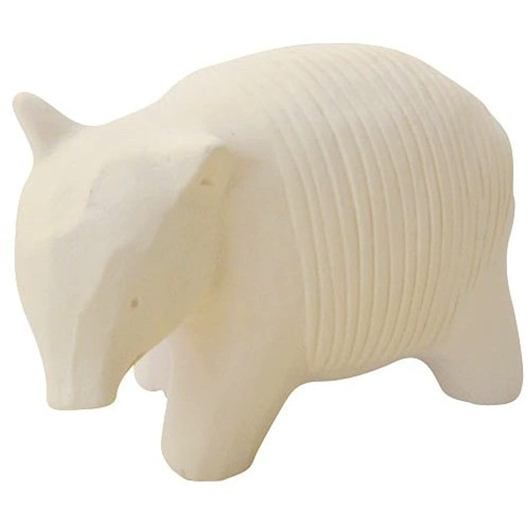 一致命令的率直なのんびり動物 プチアロマ 白バク